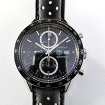 TAG Heuer Carrera Calibre 16 41mm CV2010 steel Chronograph...