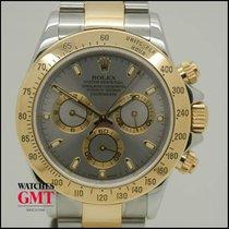 Rolex Daytona Chrono Steel & Gold Silver Dial