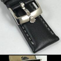 勞力士 (Rolex) ROLEX 18mm Steel Logo Buckle on a 20mm Black...
