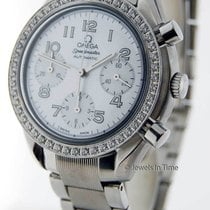 Omega Ladies Speedmaster Chronograph Mother Of Pearl Dial...