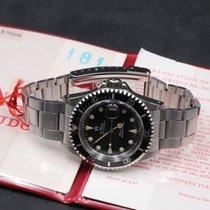 Tudor Submariner 79090 Black NOS Beautiful Patina BOX PAPER