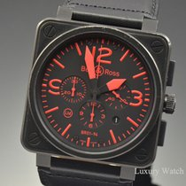 Bell & Ross Black PVD Chronograph Limited Edition 46MM...