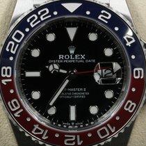 Rolex GMT-Master II Black Index Dial Red/Blue (Pepsi) Bezel...