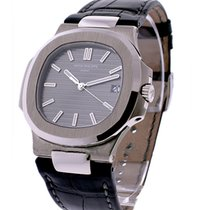 Patek Philippe 5711G Jumbo Nautlilus Mens Automatic in White...