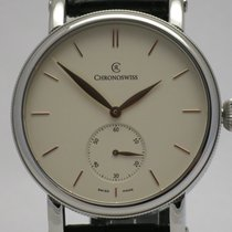 """Chronoswiss """"Sirius Small Seconds"""" steel case. New,..."""