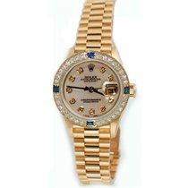 Rolex Lady's President Model 79178, 18K Yellow Gold...