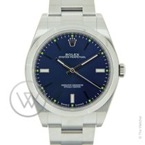 Rolex Oyster Perpetual 39mm Blue New-Full Set