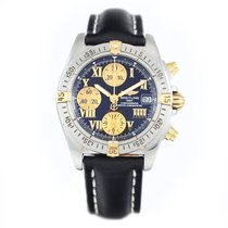 Breitling Chrono Cockpit Gold/Steel B13358