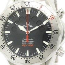 Omega Polished Omega Seamaster Pro 300m Apnea Jacques Mayol...