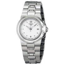 Tissot T-Sport White Dial Diamond Markers Ladies Watch...