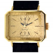 Omega De Ville Vintage Rectangular By Andrew Grima, Yellow Gold