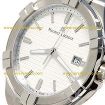 Maurice Lacroix Aikon Quartz Steel Bracelet Silver Dial