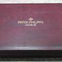 Patek Philippe very important and rare display burgundy box...