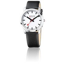 Mondaine Montre Simply Elegant Black Polished 41 mm