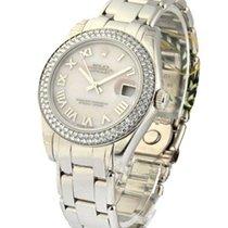 Rolex Unworn 81339  1450 Mid Size White Gold Masterpiece with...