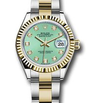 Rolex Unworn 279173MGDO Datejust 28mm Automatic in Steel and...