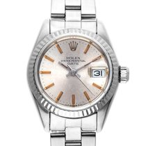 Rolex Datejust Lady Stahl Weißgold Automatik Armband Oyster