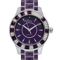 Dior Christal Stainless Steel Diamond Ladies Watch – CD144515M001