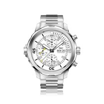IWC Schaffhausen Aquatimer Automatic Chronograph Mens Watch...
