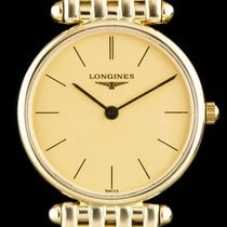 Longines 18k Yellow Gold Champagne Dial Agassiz Ladies...