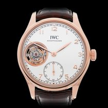 IWC Portuguese Tourbillion 18k Rose Gold Gents IW546302 - COM1200