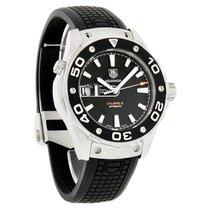 TAG Heuer Aquaracer Calibre 5 Mens Rubber Strap Watch WAJ2110....