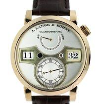 A. Lange & Söhne 140.032 Zeitwerk Rose Gold Silver Dial