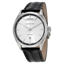 Hamilton Men's H42565751 Jazzmaster Silver Dial Watch