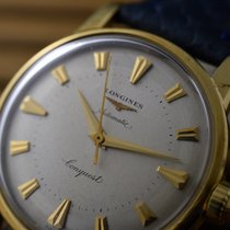 Longines CONQUEST AUTOMATIC 9001 ENAMEL CASEBACK 18K gold