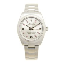 Rolex Oyster Perpetual 177200 Silver 369 Pink