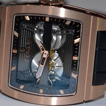 Corum Bridges Ti-Bridge Automatic Dual Winder 18K Rose Gold