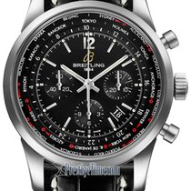 Breitling Transocean Chronograph Unitime Pilot ab0510u6/bc26-1ct