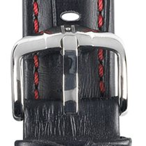 Hirsch Uhrenarmband Grand Duke schwarz L 02528050-2-18 18mm