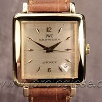 IWC Cioccolatone 18kt. Tank Grand Carre Automatic Ref. 1876...