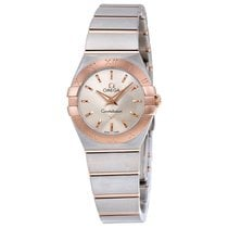 Omega Ladies 12320246002001 Constellation Gold Steel  Watch