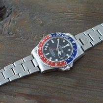劳力士  (Rolex) GMT Master 16750 Pepsi Matt Transitional Dial