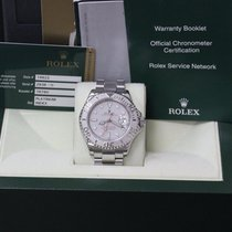 Rolex Yacht Master 16622 40MM Stainless Steel & Platinum...