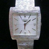 Longines Armbanduhr Handaufzug 750 Weißgold