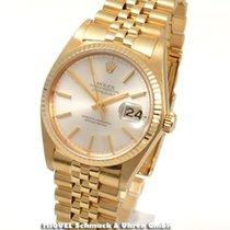 Rolex Oyster Datejust - 750er Gelbgold massiv