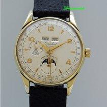 Cortébert Sport Vintage Chronograph, Vollkalender mit Mondphase
