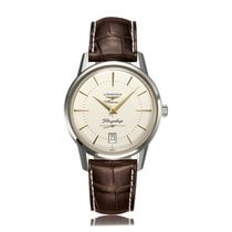 Longines Flagship Heritage Stainless Steel Automatic Mens...
