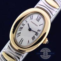 Cartier Baignoire 18K/SS Excellent Condition