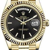 Ρολεξ (Rolex) President 228238 Day Date 40 Yellow Gold Black...
