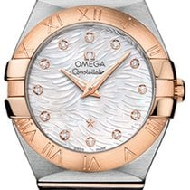 Omega Constellation Brushed 27mm 123.20.27.60.55.007