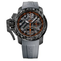 Graham Chronofighter Oversize Superlight Carbon Grey