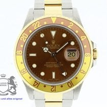Rolex GMT-Master II Tiger Eye 16713 SERVICED Warranty 1990