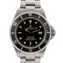 Rolex Sea-dweller 40mm In Acciaio Orange Hours Markers Ref. 16600
