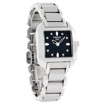天梭 (Tissot) T-Wave Ladies Black Diamond Watch T02.1.285.54