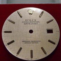 Rolex Datejust Dial Silver Linen