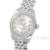 ロレックス (Rolex) Lady-Datejust Silver Roman Dial Steel 26MM...